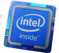 1 pcs Intel Inside Sticker 18mm x 18mm 6th Generation Skylake label badge decal