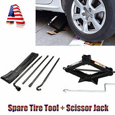 Repair Spare Tire Tool For Ford 2004-2014 F150 and Scissor Jack Black Steel New