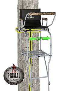 Deluxe Extra Wide 15' Steel Single-Man Ladder Stand with Grip Jaw System, New