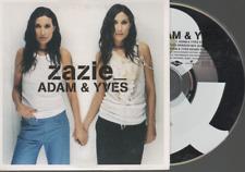 Zazie Adam & Yves CD SINGLE