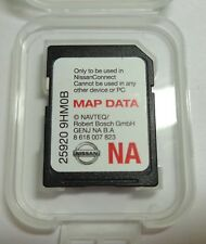 2014 2015 2016 Nissan Rouge Sentra Altima Navigation SD card U.S CAN Map OEM