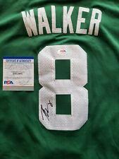 Kemba Walker Signed Boston Celtics Jersey w/ PSA COA NBA UCONN Autographed NCAA