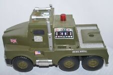 "VTG 2001 GI JOE Hasbro Fuel Truck Hands on Control ""Untested"""