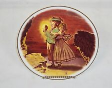 """Lost In The Cave"" Norman Rockwell Plate ~ 1978 Adventures Of Tom Sawyer Series"