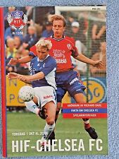 1998 - HELSINGBORGS v CHELSEA PROGRAMME - CUP WINNERS CUP 1ST ROUND 2ND LEG