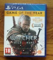 PS4 The Witcher 3: Wild Hunt - Game of the Year Edition - Free UK Postage
