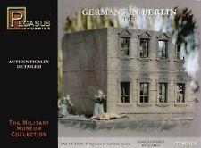 Pegasus Hobbies 1/72nd World War II Berlin German Plastic Soldiers Set 7228