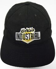 Vintage 1990s AIR WAIR INDUSTRIAL Dr. Martens Advertising SNAPBACK HAT BLACK CAP