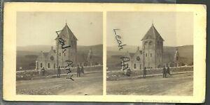 ORIGINAL OLD STEREOVIEW, BURBAGE CHURCH, BUXTON, DERBYSHIRE.