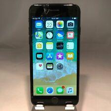 Apple iPhone 7 128GB Jet Black Verizon Unlocked Cracked Screen - Working!