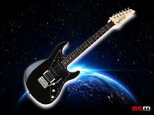 Line 6 JTV-69 James Tyler Variax Electric Guitar Black Gloss Rosewood Fretboard