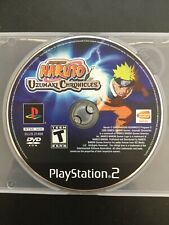 Naruto: Uzumaki Chronicles (Sony PlayStation 2, PS2) Disc Only