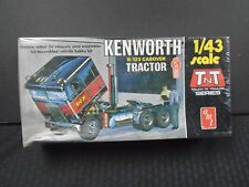 VINTAGE AMT KENWORTH K-123 CABOVER TRACTOR TNT TRUCK PLASTIC MODEL KIT 1/43 T702
