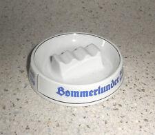 Bommerlunder Schnaps ASCHENBECHER Porzellan vintage Raucher Alte Reklame Bar RAR