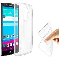 Pour LG G4 Coque Gel En Silicone Tpu Lisse Transparent