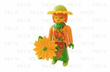YRTS Playmobil 9147 Serie 11 Mujer Flor ¡New!