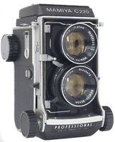 MAMIYA C220 + 80mm 2.8 - Blue Dot - New Seals -