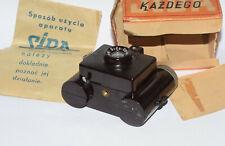 Polish Camera Bakelit  SIDA  With Orginal Box Manual