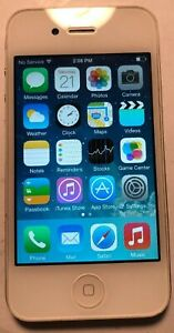 Apple iPhone 4 White (AT&T) A1332 8GB GSM Fast Shipping Excellent Used