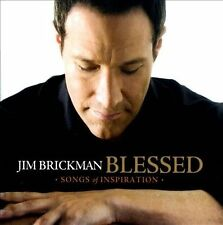 """Jim Brickman """"Blessed - Songs of Inspiration"""" CD Brand New Factory Sealed"""