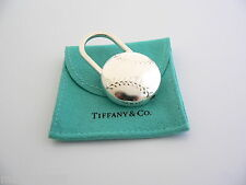 Ball Padlock Key Ring Keychain Rare Tiffany & Co Silver Rare Baseball