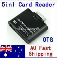 5in1 USB OTG Host connection Kit Card Reader Adapter For Galaxy Tab P7500 P7300