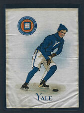 YALE HOCKEY  S21 Large Murad College Tobacco Silk