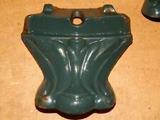 Pied Poêle Godin 3721 Emaillé Vert Bon état vendus à l'unité