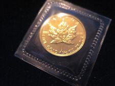 """MDS KANADA CANADA 5 DOLLARS 1989 """"MAPLE LEAF"""" , GOLD"""