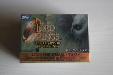 LORD OF THE RINGS FOTR - MOVIE CARDSTOPPS 2001  FULL SET OF 90 COLLECTOR CARDS