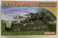 Dragon Sd.Kfz.251/2 Ausf.C hit Wurfrahmen 40 Armor 1/72 scale #7306 (Model Kit)