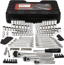 New! Craftsman 165 Piece Tool Set Mechanic Auto Kit Metric Ratchet Wrench Socket