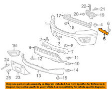 Chevrolet GM OEM 15-16 Colorado Front Bumper-Side Bracket Left 23467531