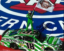 2019 Kyle Busch 200th Win Interstate Batteries NASCAR Signed 8x10 Photo COA #2