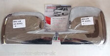 VW Transporter T5 + VW Caddy wing mirror cover trim - CHROME - BRAND NEW - PAIR