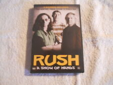 "Rush ""A Show of hands"" Rare Brasilian DVD 100 min  New $"