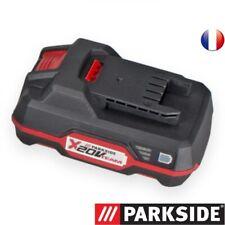 PARKSIDE Batterie  20V Capacité  2 Ah-X20V-TEAM