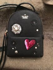 Kate Spade Finer Things Merry Very Small Backpack New