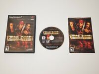 SONY PS2 PlayStation Two  WORKING GAME PIRATES OF THE CARIBBEAN