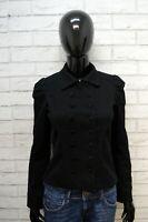 Giacca MNG SUIT MANGO Donna Taglia 36 Cappotto Nero Blazer Jacket Elastica Jacke
