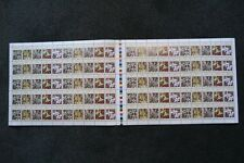 Australia Full Sheet Christmas Islands- Orchids 1994 .45 cent Stamps x 100 - MUH