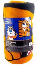 "Funko POP! Loungefly Tony The Tiger 48""x60"" Frosted Flakes Fleece Throw Blanket"