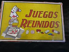 Jeux ! Boîte de Jeux ! Anciens ! Juegos Reunidos ! Made in Spain ! J10