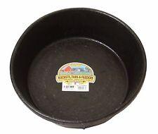 Little Giant Rubber Feed Pan Crush Proof Crack Proof Freeze Proof Soft Safe 8qt