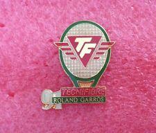 Pins TENNIS ROLAND GARROS 91 Sponsor TECHNIFIBRE Raquette