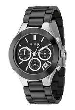 DKNY Armbanduhren mit Keramik-Armband und Chronograph