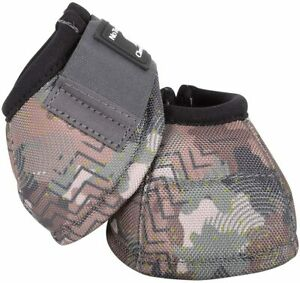 Classic Equine Camo DYNOHYDE 2520D No Turn Bell Boots Horse Tack