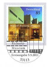 BRD 2011: Wallraf-Richartz Museum Colonia n. 2866 con Bonner timbro speciale! 1a 155