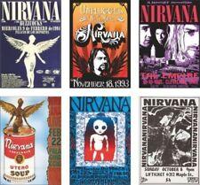 Écussons et drapeaux de collection liés à la musique nirvana