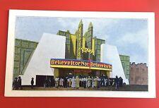 Ripley's Believe It Or Not Postcard Odditorium Freaks Californ Pacific Vtg 1935